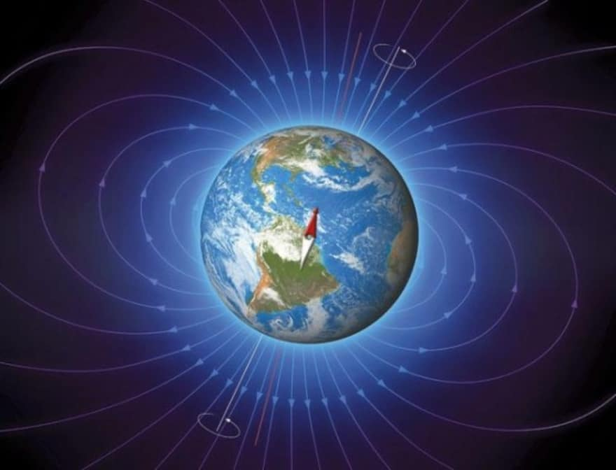 affect of earths magnetic field on