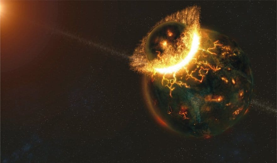 how the earth was formed The earth's new crust grew rapidly, with about 70 percent of the crust formed by 3 billion years ago, researchers think the earliest chemical markers of life also appeared with the first.
