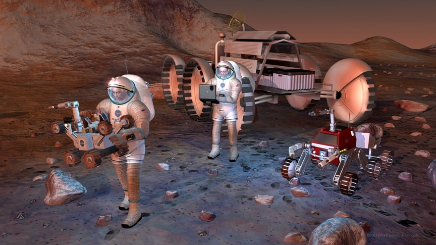 an argument that the us is justified in using billions on nasa missions to mars Search national review its proposed budget for nasa while the $19 billion in total funding provided was not four years and human missions to mars in.